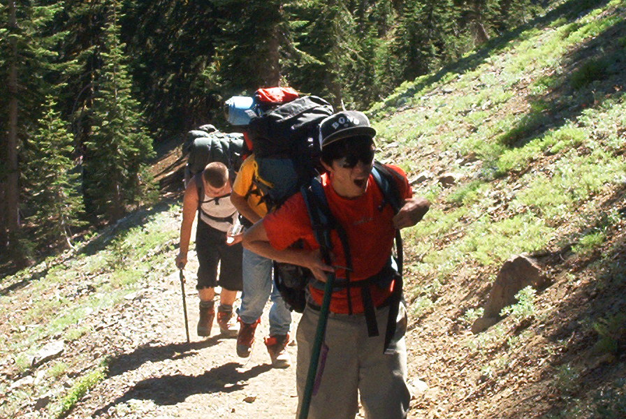 Roseville youth go with their Chiropractor dad to Mt. Shasta